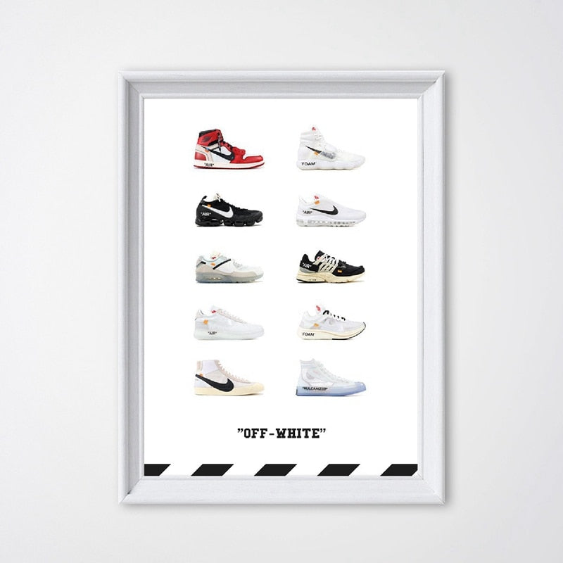affiche nike off white