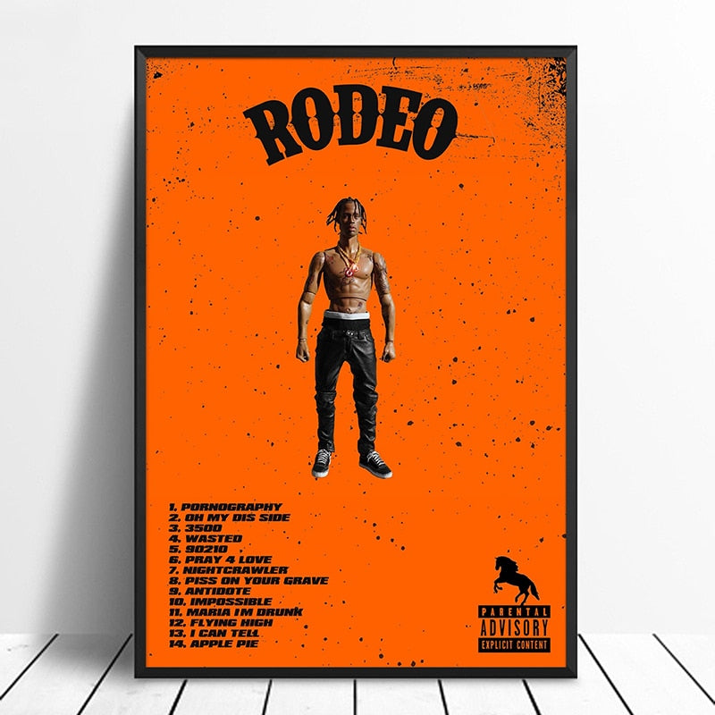 poster travis scott rodeo toy