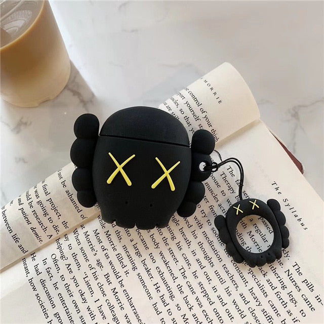 kaws fashion airpods case
