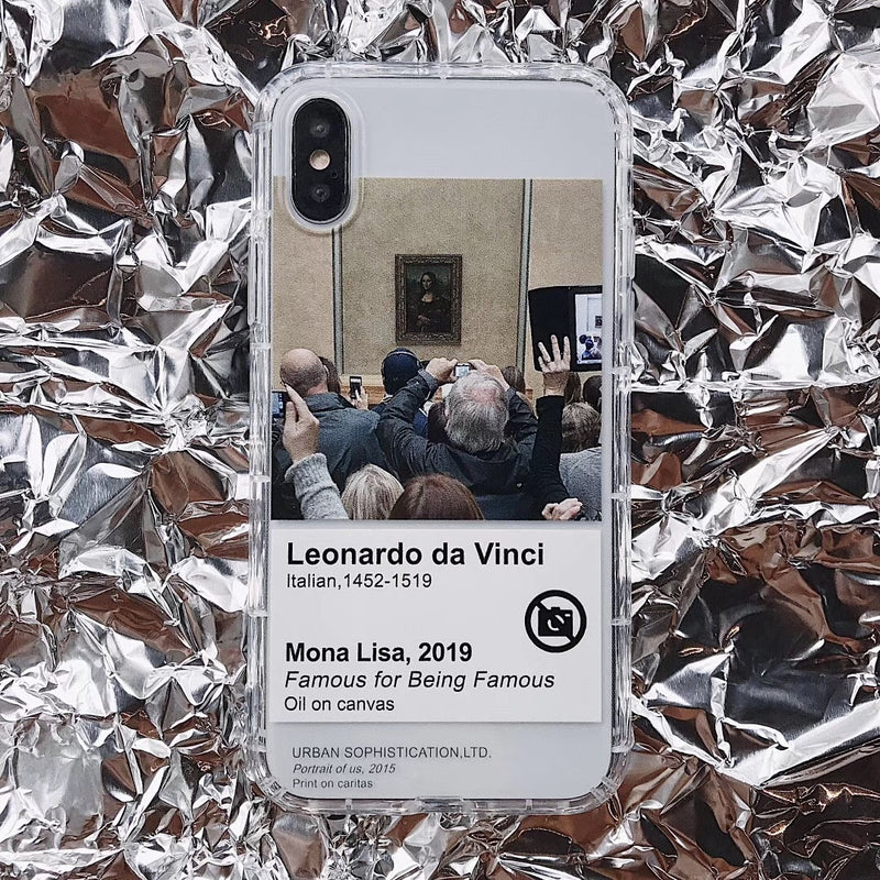 Coque iPhone Mona Lisa