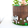 JUNGLE CHILDREN'S PARTY CAKE