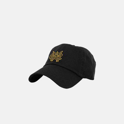 WORLDWIDE WEALTH CLUB DAD HAT (BLACK)