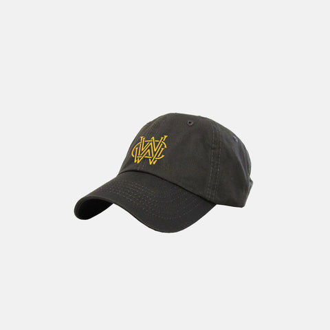 WORLDWIDE WEALTH CLUB DAD HAT (CHARCOAL)