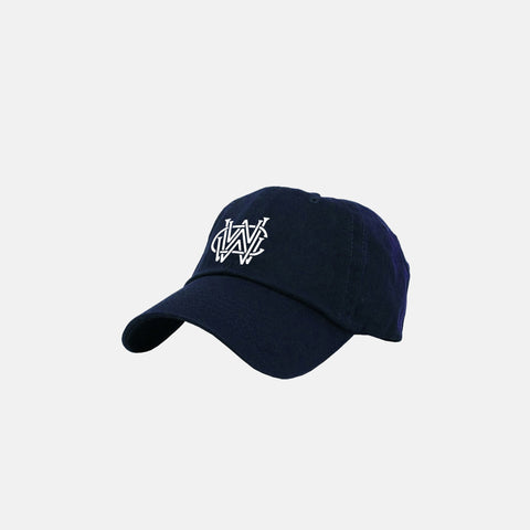 WORLDWIDE WEALTH CLUB DAD HAT (NAVY)