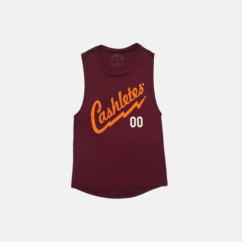 BOLT JERZ S/L TEE WOMEN'S (BURGUNDY)
