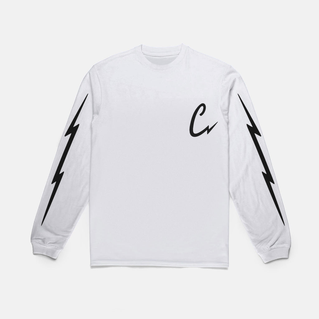 BOLTING L/S TEE (WHITE)