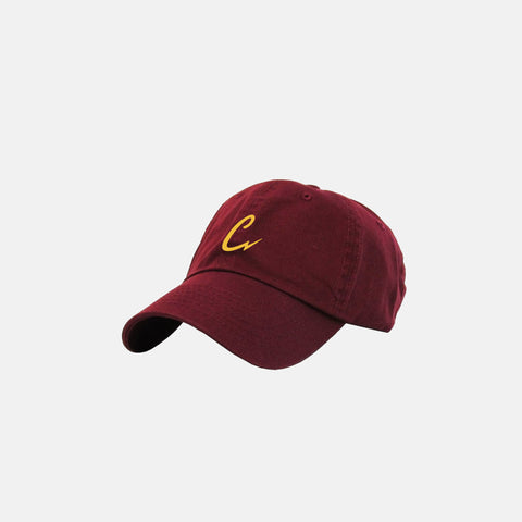 BOLTING DAD HAT (BURGUNDY)