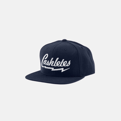 BOLT SNAPBACK HAT (NAVY) - 1