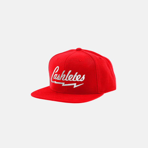 BOLT SNAPBACK HAT (RED) - 1