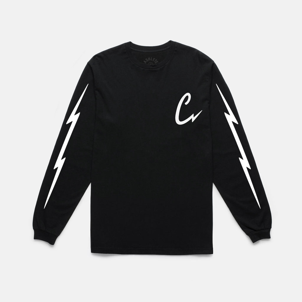 BOLTING L/S TEE (BLACK)