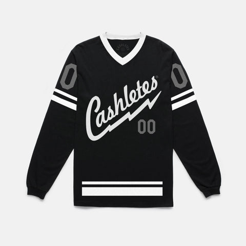 BOLT L/S JERSEY (BLACK/GRAY) - 1