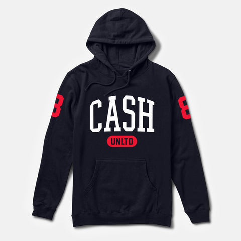 UNLIMITED HOODIE (NAVY/RED)