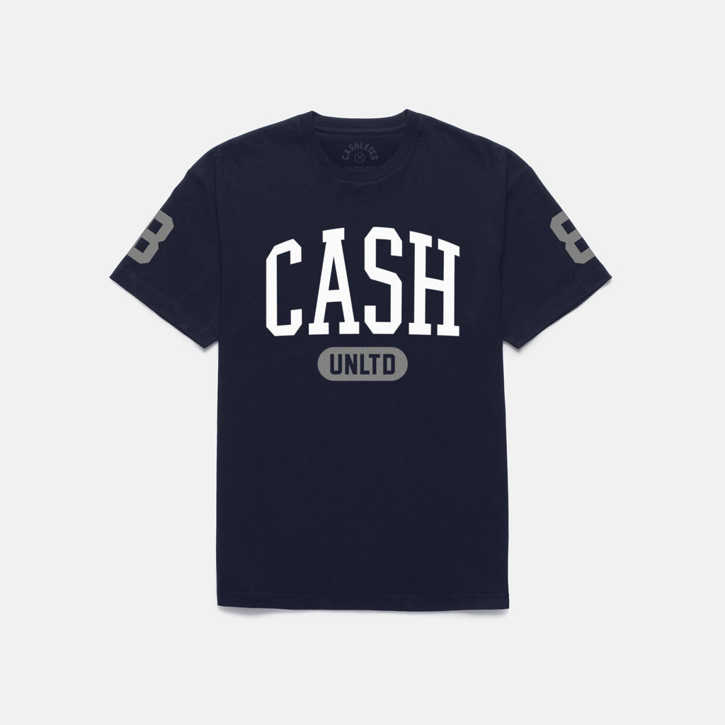 UNLIMITED T-SHIRT (NAVY/GRAY)