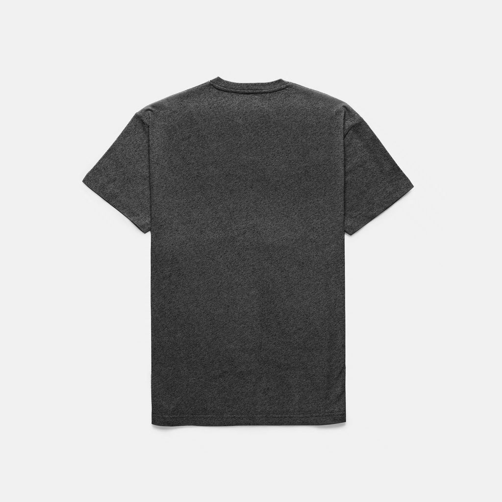 SCRIPT LOGO T-SHIRT (CHARCOAL HEATHER) - 2
