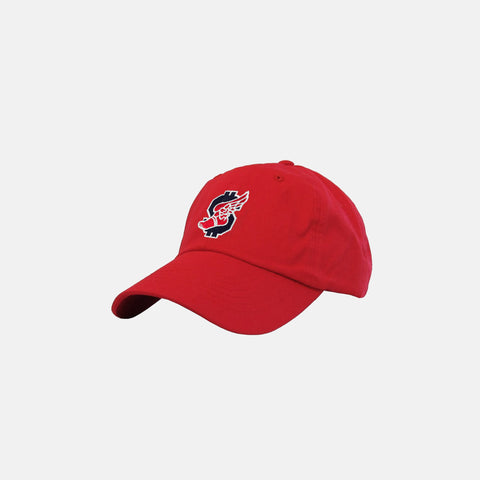 FAST MONEY DAD HAT (RED)