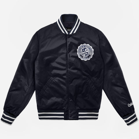 INSTITUTION OF HIGHER EARNING DUGOUT JACKET (NAVY) - 1