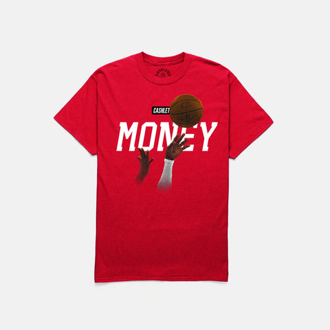 MONEY MAMBA T-SHIRT (RED)