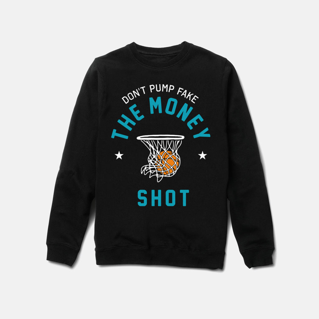 MONEY SHOT CREWNECK (BLACK) - 1
