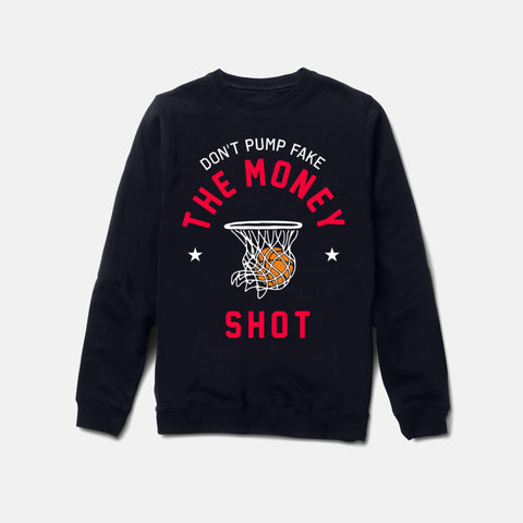 MONEY SHOT CREWNECK (NAVY) - 1