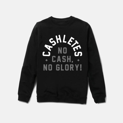 NO TRIUMPH CREWNECK (BLACK) - 1