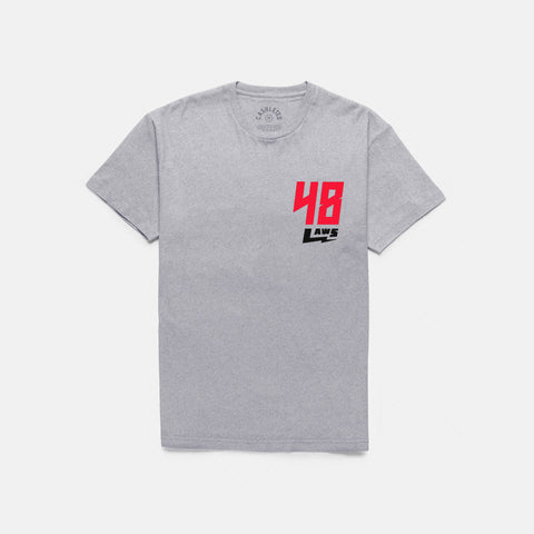48 LAWS T-SHIRT (HEATHER) - 1
