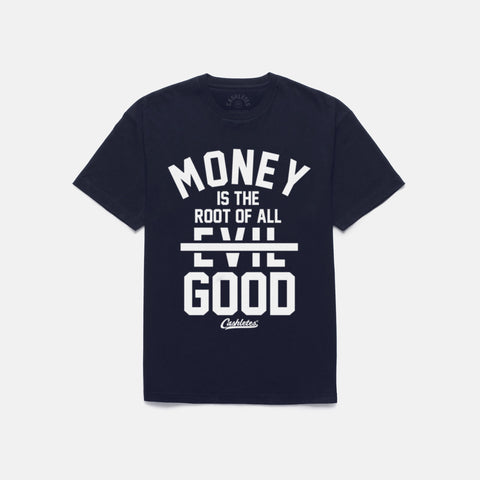 ROOT OF GOOD T-SHIRT (NAVY) - 1
