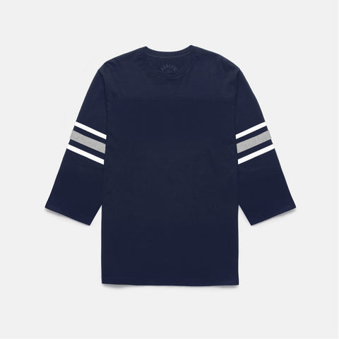 GRIDIRON FOOTBALL TEE (NAVY)