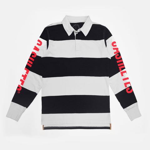 WINNER SIDELINE RUGBY (BLACK/WHITE)