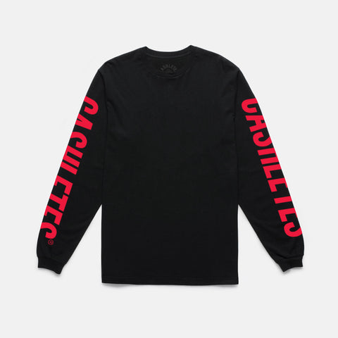 WINNER DUBS L/S TEE (BLACK/RED)