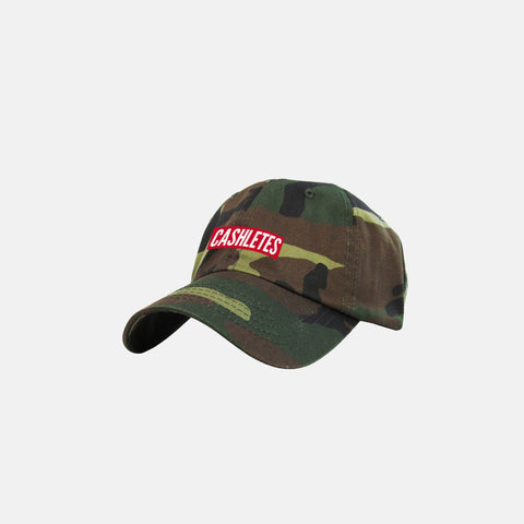 WINNER BOX LOGO DAD HAT (CAMO)
