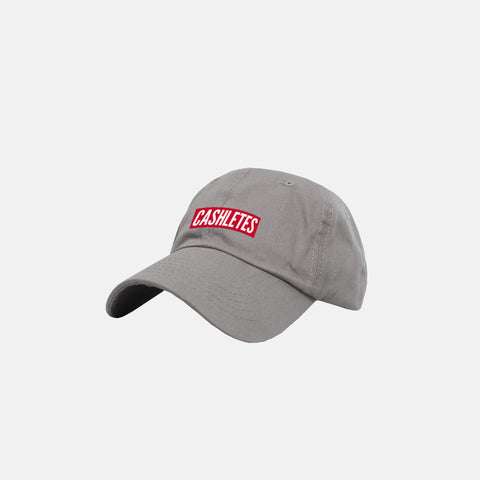 WINNER BOX LOGO DAD HAT (Gray)