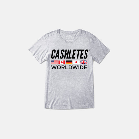 WORLDWIDE T-SHIRT WOMEN'S (HEATHER)