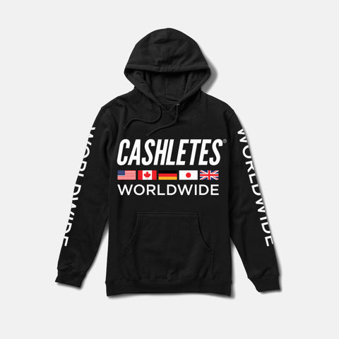 WORLDWIDE HOODIE WOMEN'S (BLACK)