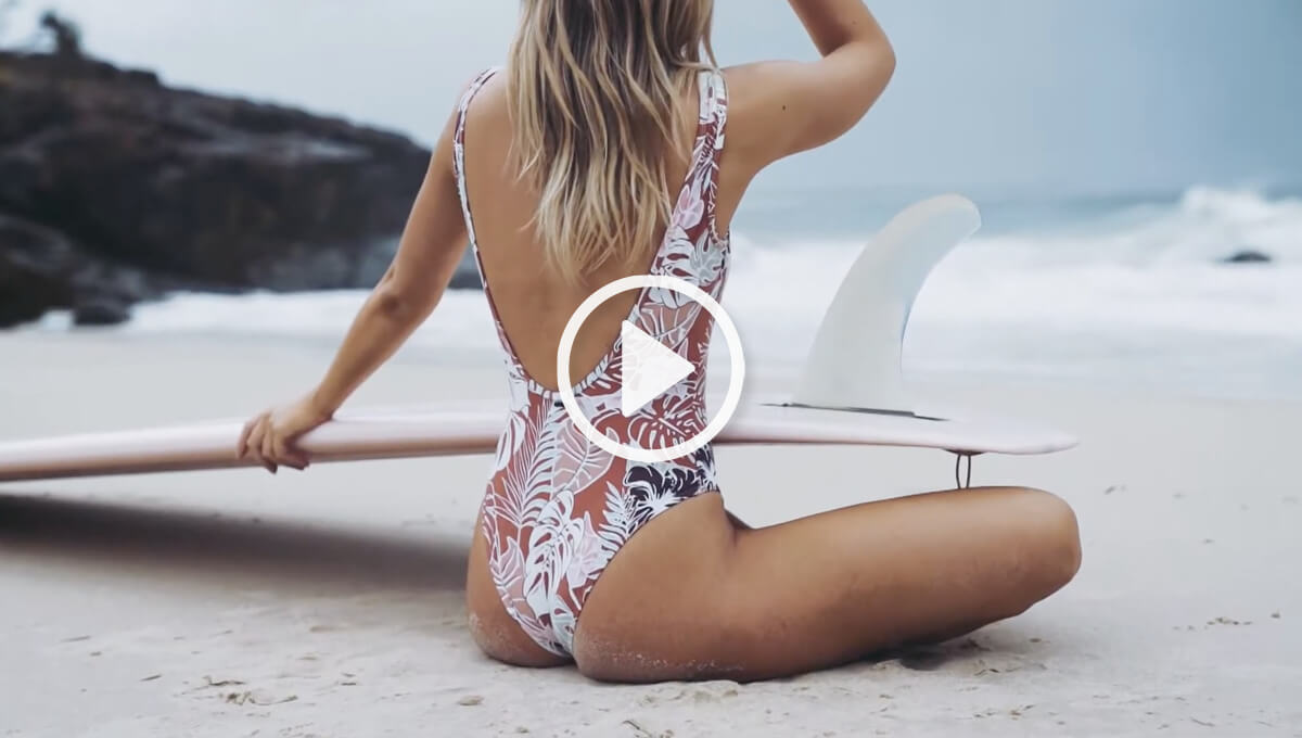 Women's Summer '20 clothing photo shoot - video clip