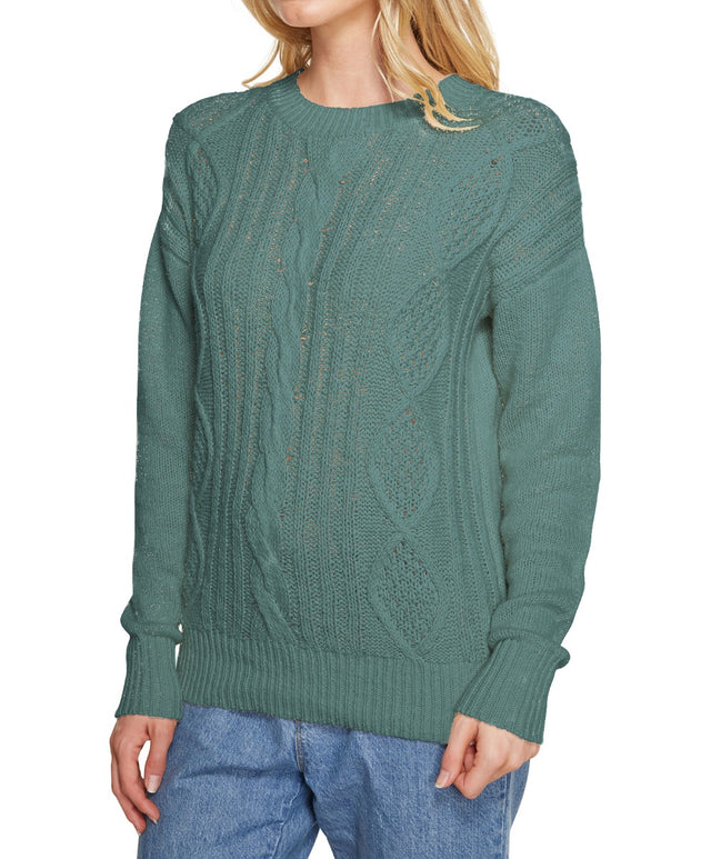 Moonlight Knitted Jumper - Forest Green