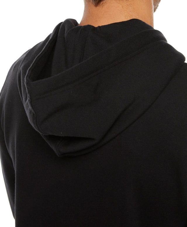Jacks Base Zip Fleece Hoodie - Black Out
