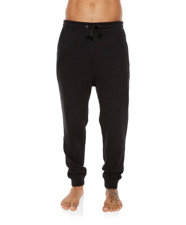 Jacks Base Trackie Pants - Black Out