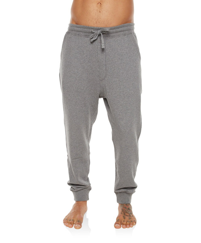 Jacks Base Trackie Pants - Grey Marle