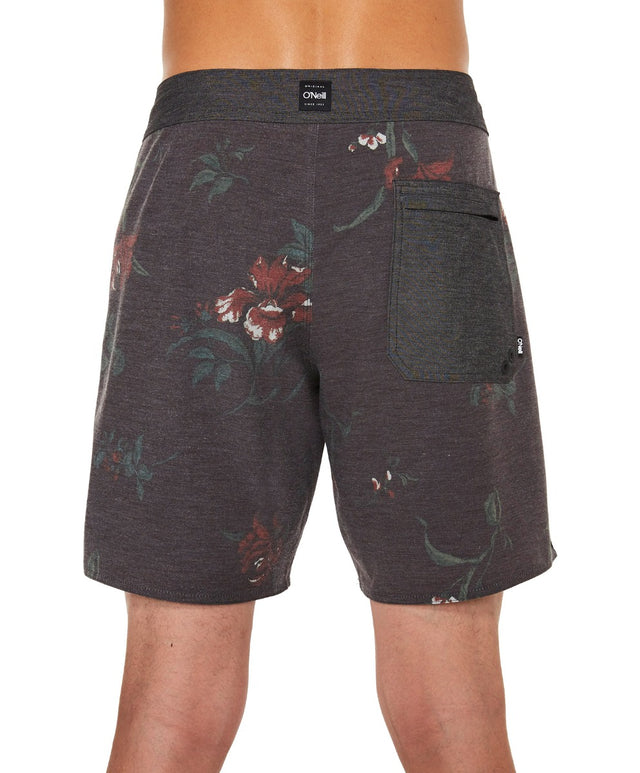 The Aloha Boardshort - Black Aop