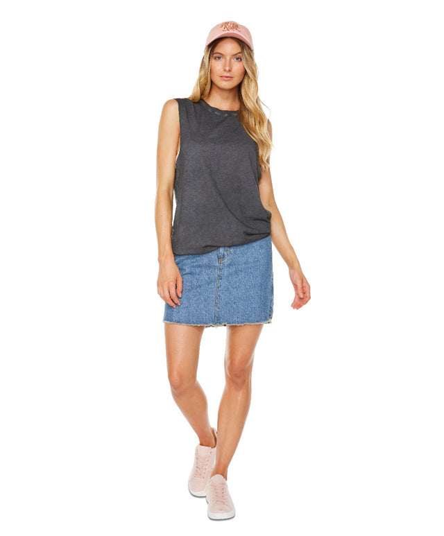 Lulu Tank - Washed Black