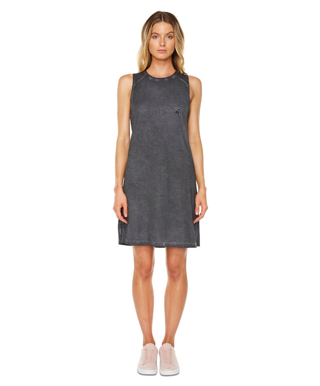 Coco Tank Dress - Black Wash