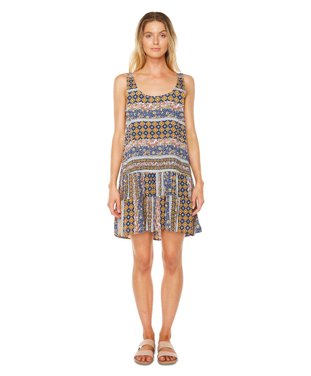 Harbourside Dress - Maz Multi Aztec