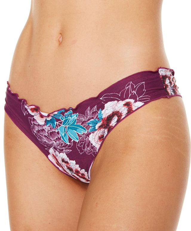 Rapture Bikini Pant - Mgb Magenta Bloom