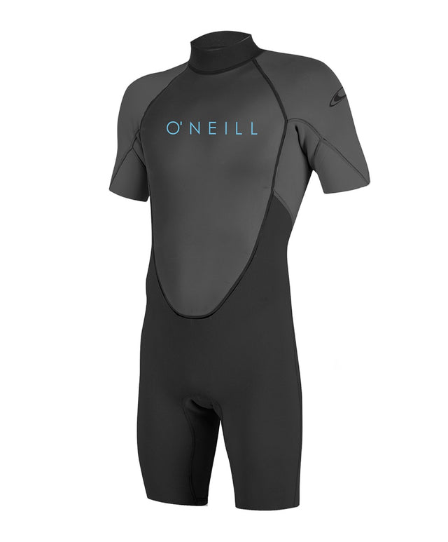 Boys Reactor II 2mm Short Sleeve Spring Wetsuit - Black/Graphite
