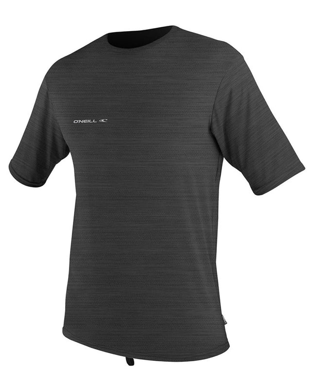 Hybrid Short Sleeve Surf T-Shirt Rashie - Graphite