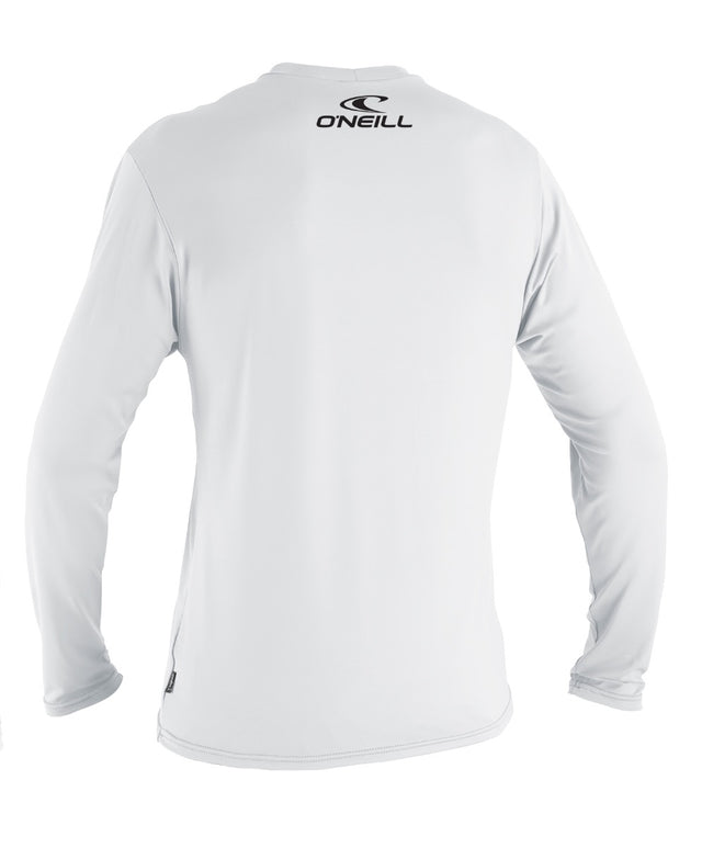 Basic Skins Long Sleeve Rashie Tee - White