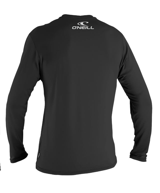 Basic Skins Long Sleeve Rashie Tee - Black