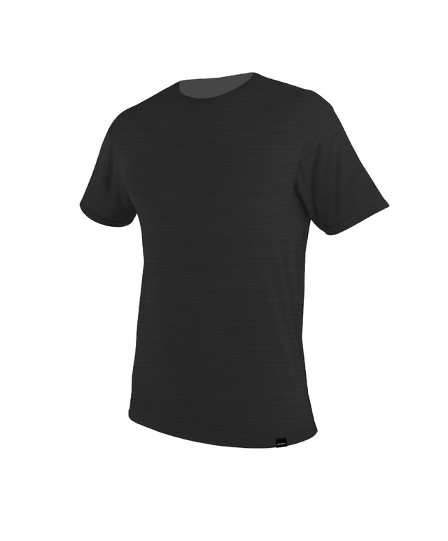 Jacks Base Surf Rashie Tee - Black Marle