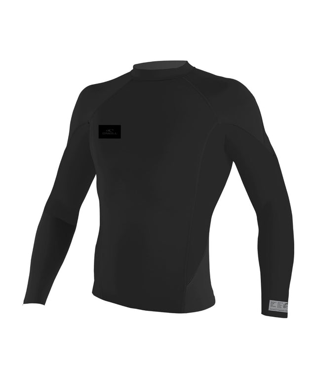 Superfreak Long Sleeve 1mm Wetsuit Jacket - Stealth Black