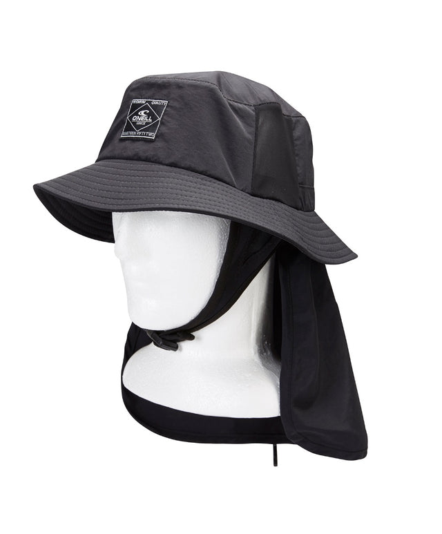 Eclipse Bucket Surf Hat 3.0 - Black